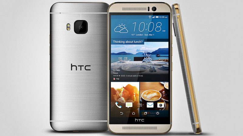 HTC One M9 argintiu