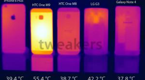 Fără prea mari eforturi, HTC One M9 se încălzeşte până la 55,4 grade Celsius