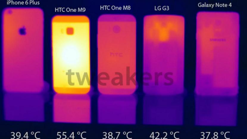 HTC One m9 supraîncălzire 2