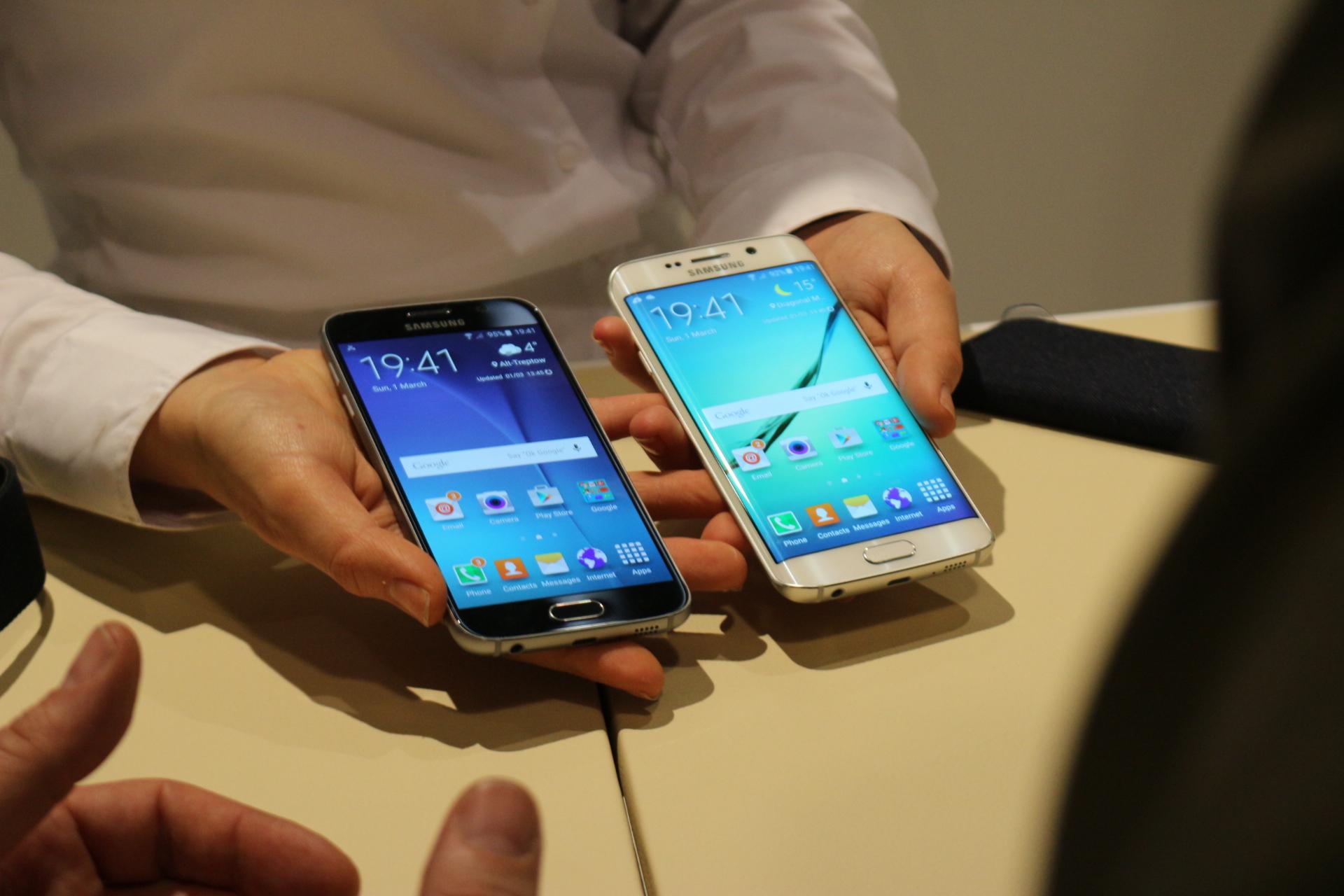 Samsung Galaxy S6 și S6 Edge