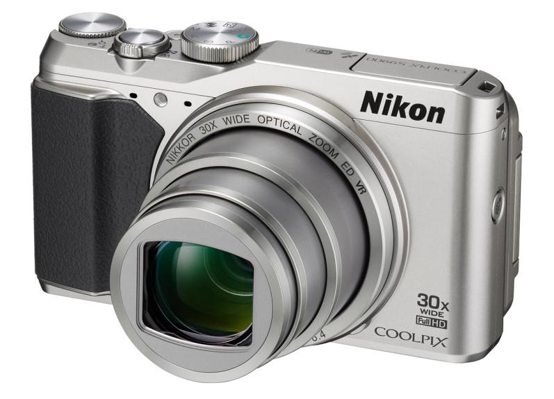 Nikon COOLPIX S9900 cele mai bune camere foto cu GPS