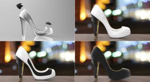 Soluția pentru femeile obsedate de modă: pantofi inteligenți care își schimbă culoarea