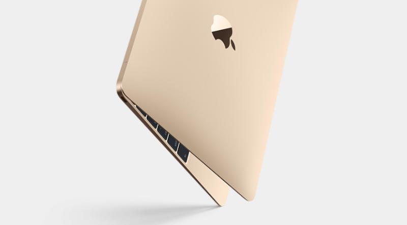 Noul MacBook 2015 auriu