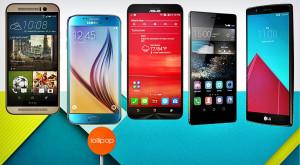 Cele mai bune telefoane din 2015: De la One M9 și Galaxy S6 la ZenFone 2, Huawei P8 și LG G4