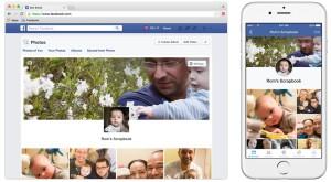 Facebook Scrapbook e funcția pentru pozele cu bebeluși pe care ții să le publici online