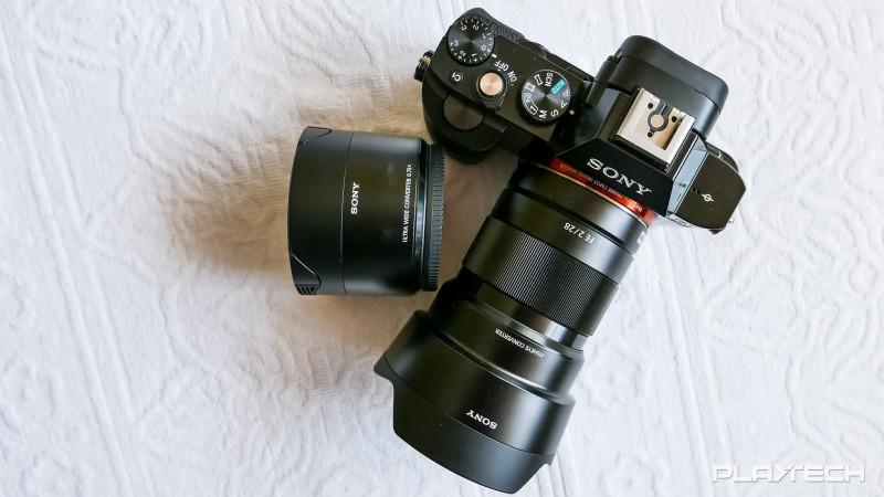 Sony A7s cu obiectivul 28mm și convertoare wide și fisheye (2)