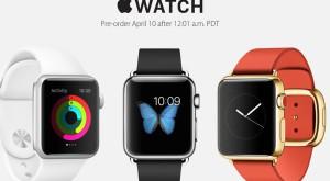 La ce oră veţi putea comanda noul Apple Watch?