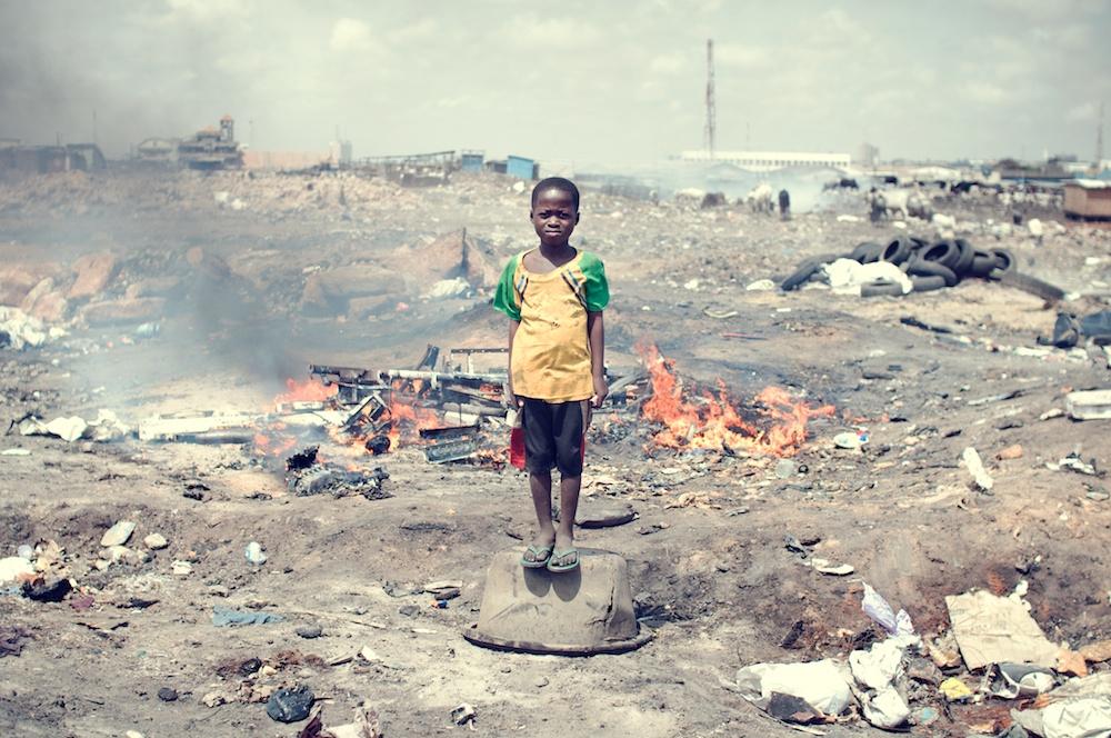 ghana agbogbloshie groapă de gunoi electronice 5