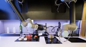 Masterchef din circuite și piulițe: Un robot poate găti 2.000 de feluri de mâncare