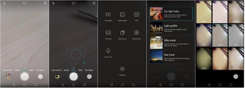 Aplicatia camerei foto pentru Huawei P8