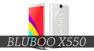 Bluboo X550, telefonul cu cea mai mare baterie arată surprinzător de bine
