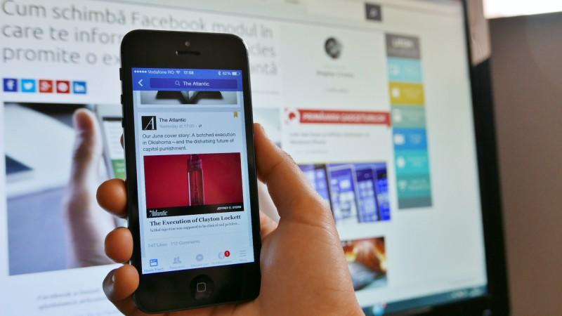 Facebook Instant Articles în aplicația pentru iPhone (4)