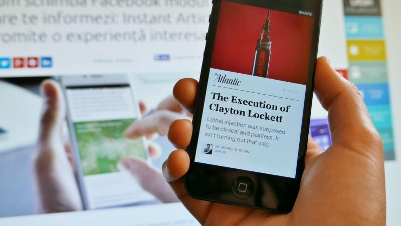 Facebook Instant Articles în aplicația pentru iPhone (5)