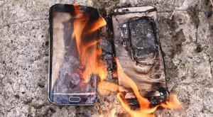 Un Samsung Galaxy S6 a fost livrat cu bateria gata umflată