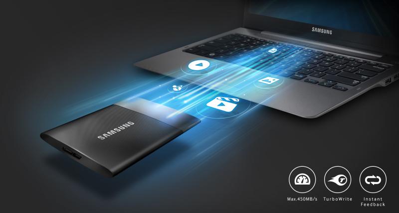 Samsung PSSD T1 (fast)