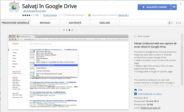 Save to google drive chrome extensions