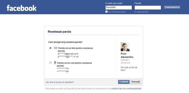 autentificare Cum dispari definitiv de pe Facebook