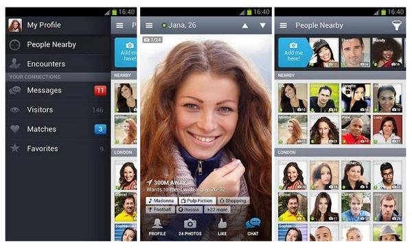 Cele mai populare aplicații de dating - Tinder
