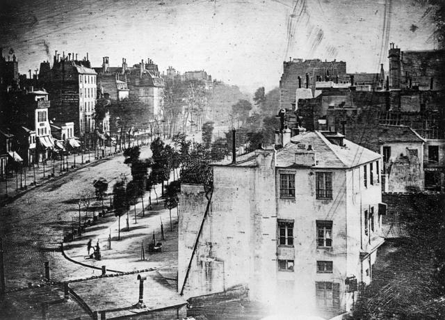 fotografie Louis Daguerre bulevard
