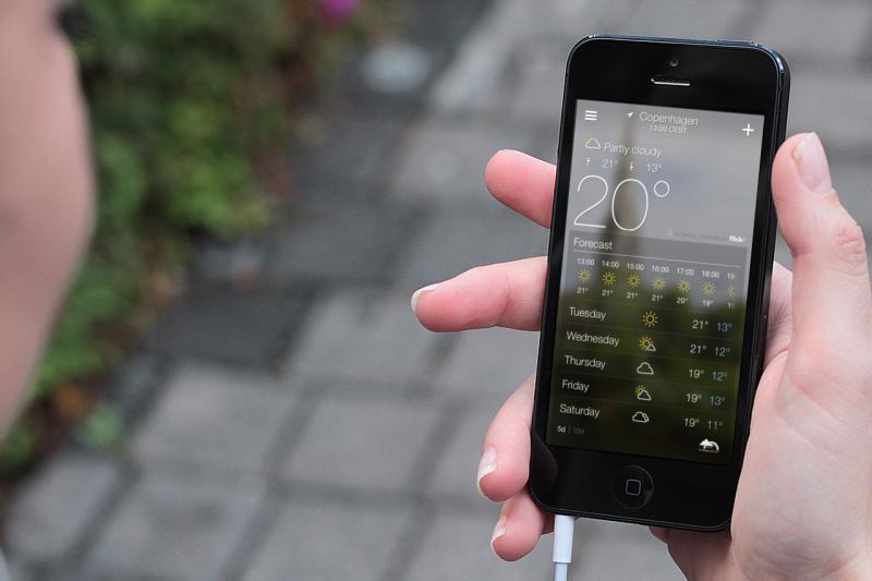 cele mai bune aplicații android pentru vreme