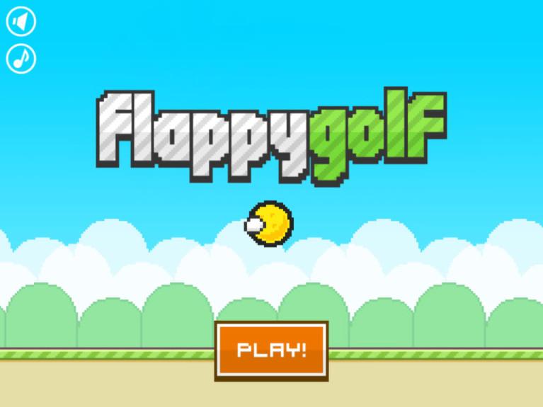 cele mai bune jocuri pentru iphone Flappy Golf