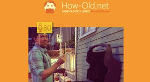 Microsoft a construit o aplicație care îți spune cât de bătrân pari