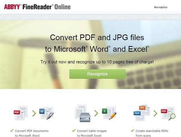 online Cum transformi o pagină scanată, o fotografie sau PDF în document Word intro