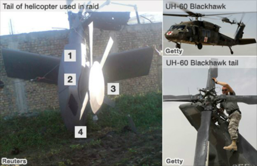 rotor elicopter bin laden