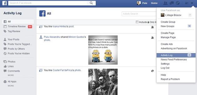sterge istoric Cum dispari definitiv de pe Facebook