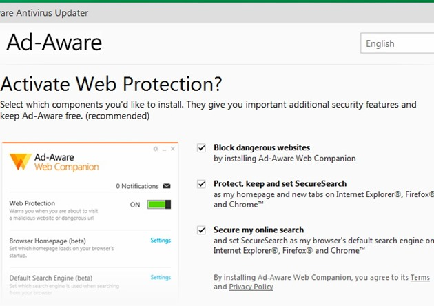 Antivirus gratuit scump malware adware Lavasoft Ad-Aware
