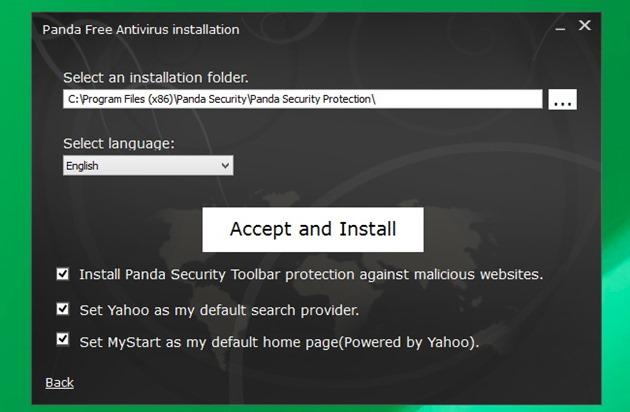 Antivirus gratuit scump malware adware Panda Free Antivirus