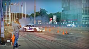 Drifturi de zile mari și anvelope distruse la Auto Total Business Show [FOTO]