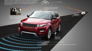 Mașina care evită singură gropile de la Jaguar Land Rover