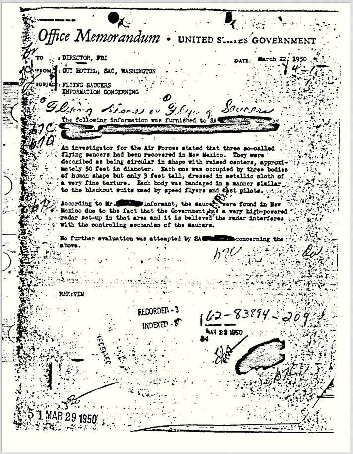 document fbi extraterestri
