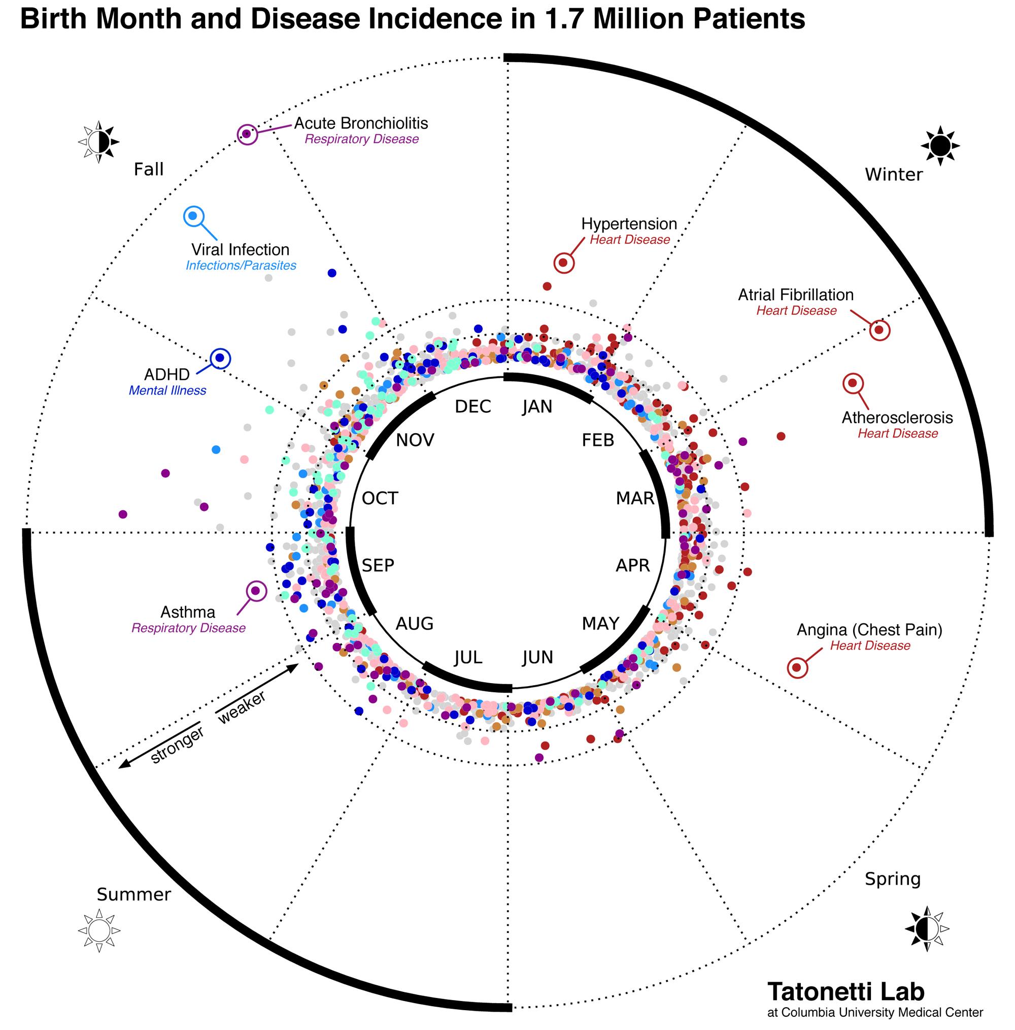 Luna în care te-ai născut poate determina bolile de care vei suferi