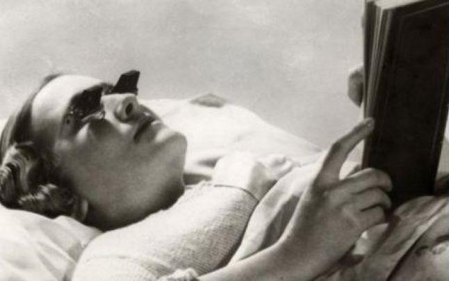 ochelarii pentru citit in pat