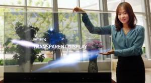 Samsung prezintă ecrane transparente și de tip oglindă și ne arată viitorul