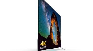 Cele mai subţiri televizoare 4K au fost anunţate de Sony şi nu sunt ieftine