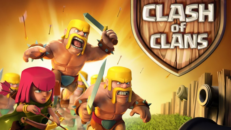 top 10 jocuri pe facebook clash of clans
