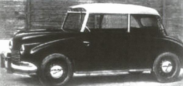 Autoturismul Malaxa 1945