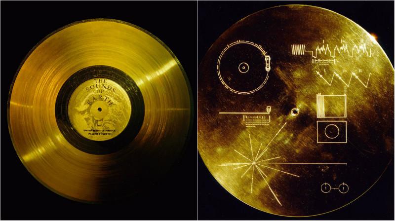 Discul de aur de pe Voyager
