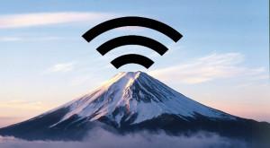 Japonezii au acces la Wi-Fi gratuit pe cel mai înalt munte