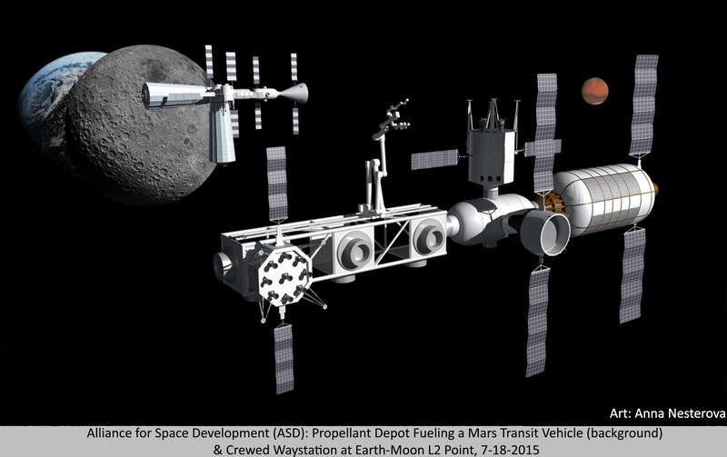 Sateliti in jurul Lunii pentru a comunica cu baza lunara
