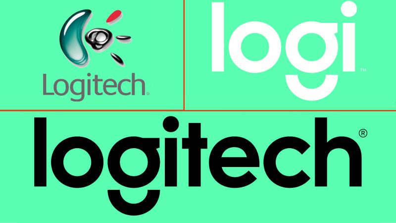 Vechiul noul logo Logitech