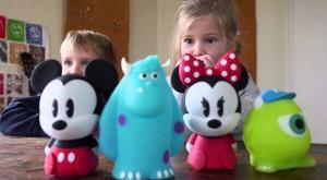 Personajele Disney se transformă în lămpi create de Philips