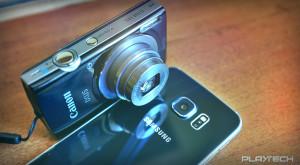 Galaxy S6 edge contra unei camere compacte ieftine: care e alegerea mai bună