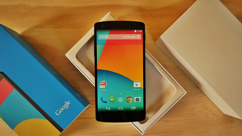 LG Nexus 5 din 2013