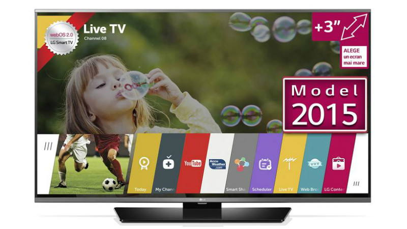 Reduceri la televizoare LG 43LF630V