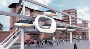 skyTran, sistemul de transport public cu care plutești în jurul orașului