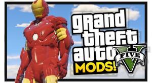 Iron Man ajunge în GTA V printr-un mod impresionant [VIDEO]
